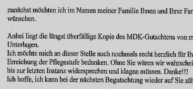 Aktuelle Kundenstimme: Gabriele S. aus Leipzig